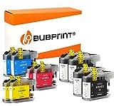 10 Bubprint Druckerpatronen kompatibel für Brother LC-223 LC-225 LC-227 XL für DCP-J4120DW MFC-J480DW MFC-J5320DW MFC-J4620DW MFC-J4420DW DCP-J562DW