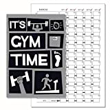 Gym Tagebuch, Gewicht Training Diary Log Book, A5Tägliche Workout Diary-117