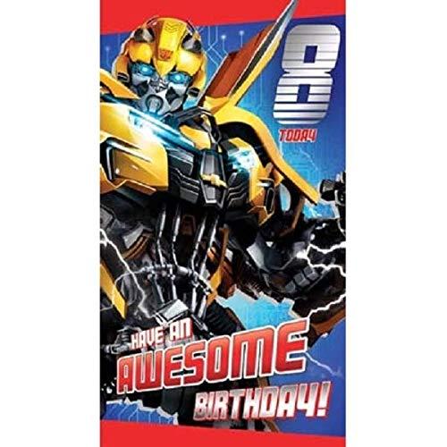 Transformers Carte d'anniversaire 8 ans