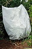 Frostschutzhaube Frostschutzvlies 50g/m² Vlies-Schutzhaube für Kübelpflanzen und Rosen (220cm x 240cm)