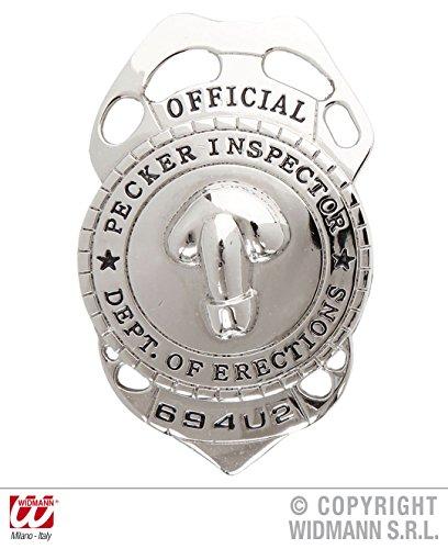 WIDMANN- Insignia de la Policía, Multicolor (WID715107)