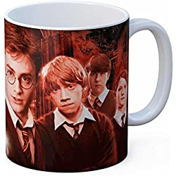 SD toys Ejercito Dumbledore Taza Harry Potter, Cerámica, Blanco, 9x10x13 cm