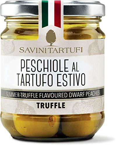 (Savini Tartufi - Kleine kalabrische Pfirsiche mit Trüffel 180gr)