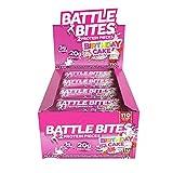 Battle Bites Proteinriegel 12 x 62g wenig zucker mit 20g protein
