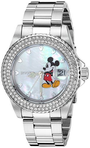 Invicta Women's Disney Limited Edition Steel Bracelet Quartz Watch 26238