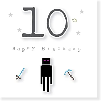 9th Birthday Zombie Villager Design By Jonathan Glick Gaming Gamer Card