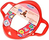 #2: Honey Bee Cushioned Potty Seat, Toilet Seat with Handle (Red)