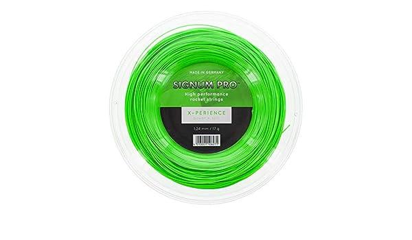 Signum Pro Xperience 200M Tennis Saitenrolle 200m Neongrün NEU