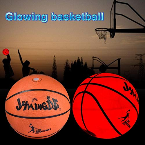 Balones Baloncesto Luminosos holográficos Luces Baloncesto