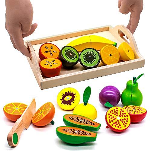 Yoptote Frutas Verduras Juguete Cortar Comida