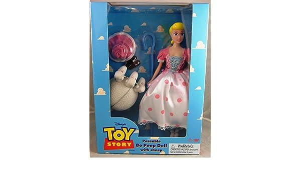 Disney Original 1995 Toy Story 11 Poseable Bo Peep w  Sheep by Thinkway Toys   Amazon.co.uk  Toys   Games e3a2bda4daa