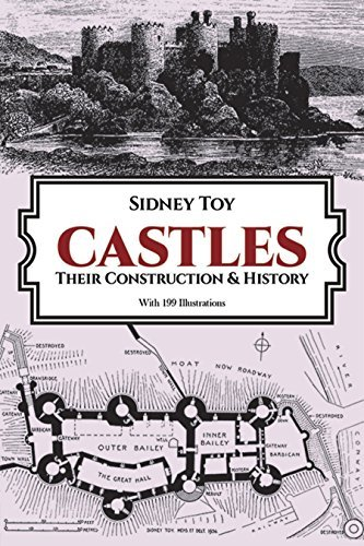 Castles: Their Construction and History (Dover Books on Architecture) by Toy, S. (1986) Paperback