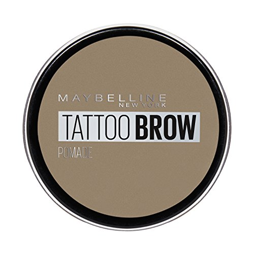 Maybelline New York Tattoo Brow Augenbrauenpomade in Nr. 00 Light, 4 ml
