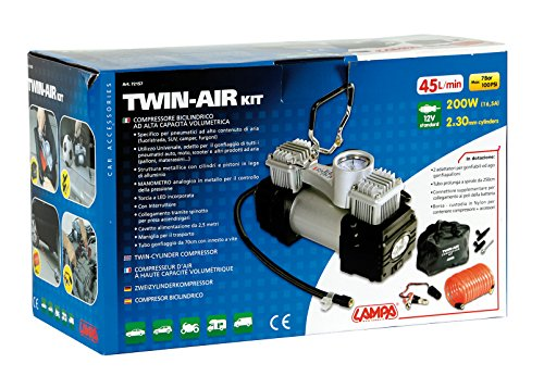 Lampa 72157 Twin Air Compresseur bi-cylindre 12 V