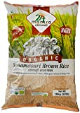 24 Mantra Organic Sonamasuri Raw Rice Brown Organic, 10kg