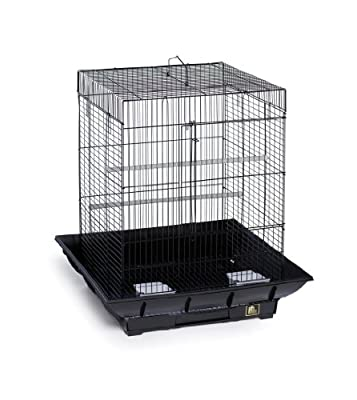 Prevue Hendryx SP850B/B Clean Life Cockatiel Cage, Black by Prevue Pet Products, Inc.