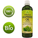 Pure Grape Seed Oil Extract Cold Pressed Extraction Moisturizing Antioxidant Oil for Skin