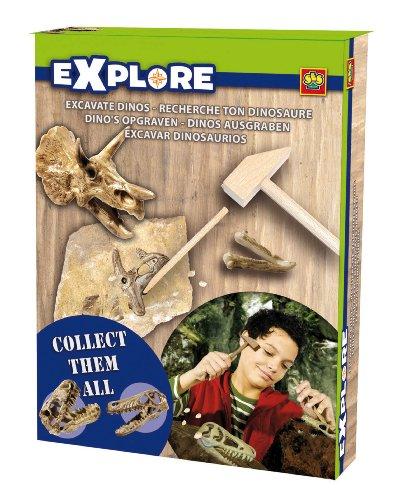 Imagen principal de Ses Explore - Set de excavación de dinosaurios, multicolor 25022