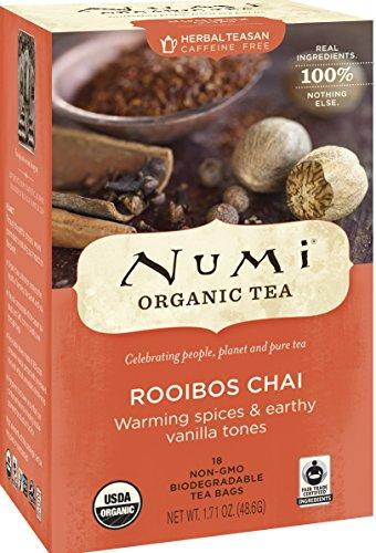 Organic Teas and Teasans, 1.71 oz, Ruby Chai, 18/Box