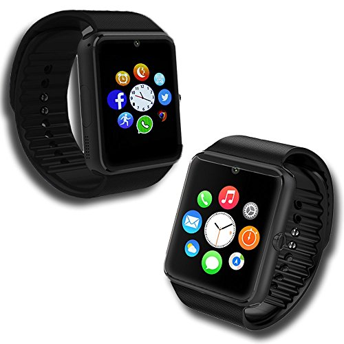Indigi® GSM GT8Handy entsperrt Bluetooth 3.0Smartwatch Phone Kamera Gesundheit Tracker ID
