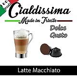 Cialdissima Dolce Gusto Latte Macchiato - 100 komptible Kapseln