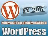 WordPress: Finding a WordPress Webhost