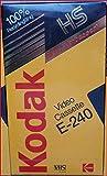 Kodak HS - Video Cassette E-240 Kassette VHS -