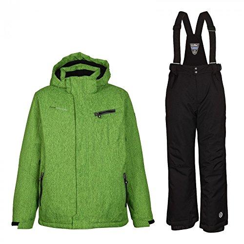 Killtec Eddy Jr - Ski Set Kinder Skianzug, Farbe:Grün;Bitte Größe wählen:152