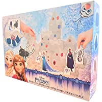 Disney Frozen Play Sand with Anna and Elsa decorations