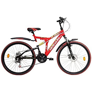 Hercules Topgear Tz110 (Red, With Disc)