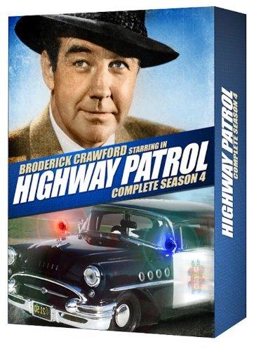 Highway Patrol Complete Season 4 by Broderick Crawford