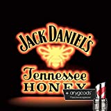 Jack Daniels Tennessee Honey Leuchtreklame Gastro Bar Deko + anygoods Flaschenausgiesser