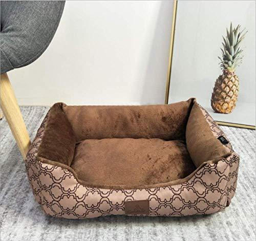 KYCD Hundehaus Drucken Grill Square Nest Haustier Hund Nest Cat Nest Pet Supplies Nest