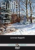 Huile - Paysage de neige au couteau - Cours de peinture en DVD