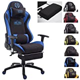 CLP Silla Gaming XL Shift en Tela I Silla Gamer con Reposapiés...