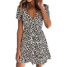 COOLIY Boemia Mini Corto Abito Senza Spalline del Mare Vestito Donna Sexy  Party T Shirt Dress 4fa26d14dd8