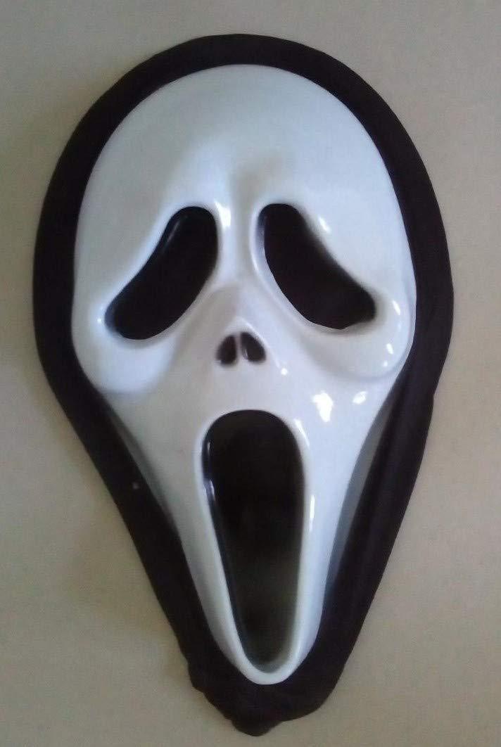 saxxdeluxe Scream - Horror - Maske - Fasching Halloween Party Kostüm Karneval Theater verkleiden