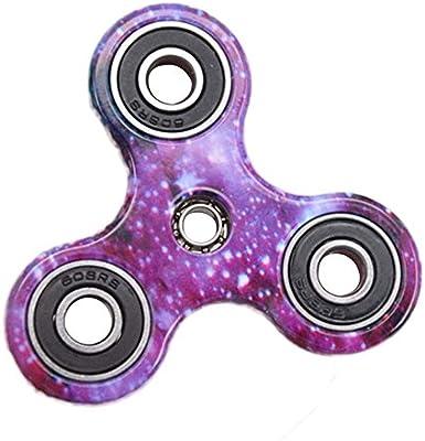 Hand Spinner Toy, Stillshine Multicolor Camouflage Fidget Tri-Spinner juguete de estrés y alivio de ansiedad, el TDAH Autismo