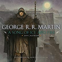 2019 A Song of Ice and Fire Calendar ,