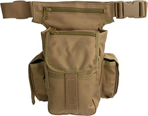 Multipack - als Hüfttasche, Beintasche oder Schultertasche verwendbar Coyote