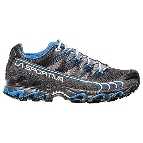 La Sportiva Ultra Raptor Woman, Scarpe da Trail Running Donna, Multicolore (Carbon/Cobalt Blue 000), 39 EU
