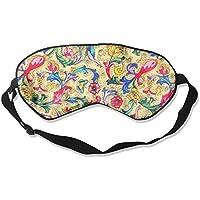 Colored Flowers Sleep Eyes Masks - Comfortable Sleeping Mask Eye Cover For Travelling Night Noon Nap Mediation... preisvergleich bei billige-tabletten.eu