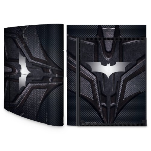 YOUNiiK Styling Skin Designfolie für Sony Playstation 3 Super Slim bzw. PS3 super slim - Batman - Bat-Tec