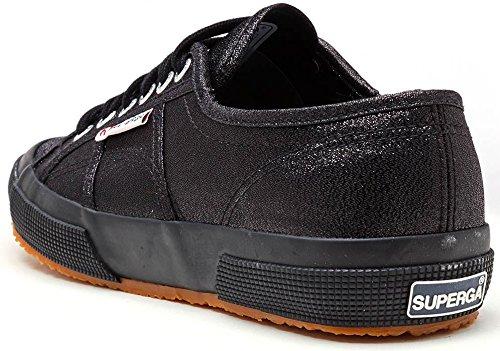 Superga 2760 Lamew Unisex - Scarpe Sportive Per Adulti - Pallacanestro Nero Pieno