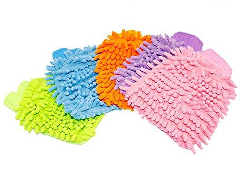 Red-Simi-2PCS-coral-Wash-guanti