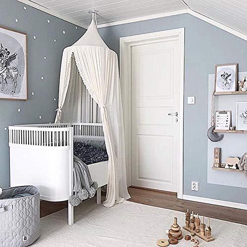 Betthimmel für Kinder, Prinzessin Betthimmel Moskitonetz Kids Princess Play Zelte, Raumdekoration für Baby