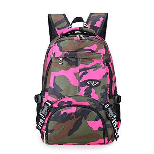 Preisvergleich Produktbild Schulrucksack Schulranzen Schultasche Sports Rucksack Freizeitrucksack Daypacks Backpack für Mädchen Jungen & Kinder Damen Herren Jugendliche mit der Großen Kapazität