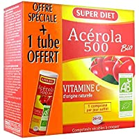 Super Diet Acerola 500Bio 36Tabletten davon 1Tube inkl. preisvergleich bei billige-tabletten.eu