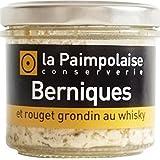 Bernique et grondin au whisky, 80 g, Verrine