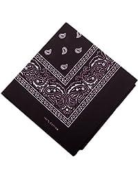 b9b0386a1296 ILOVEDIY Bandana   Foulard carré avec motif cachemire fichu paisley en  Coton multi-usages 56